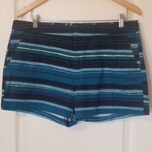 Striped Shorts size 10